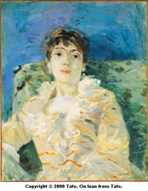 Morisot_Girl_on_a_Divan_1885