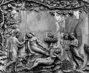 Orvieto_Duomo_First_Pillar_Creation_of_Eve
