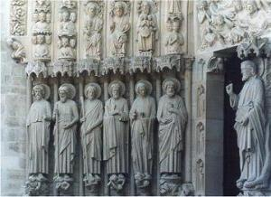 Paris_Notre_Dame_West_Portal_Figures