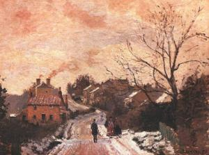 Pissarro_Lower_Norwood_Under_Snow_1870