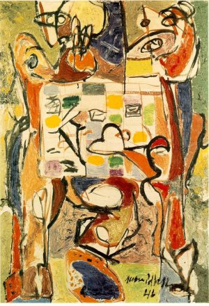 Pollock_The_Cup_of_Tea_1946