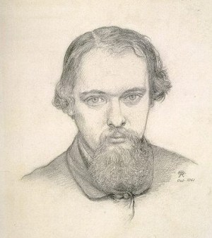 Rossetti self-portrait 1861