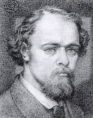 Rossetti self-portrait 1870