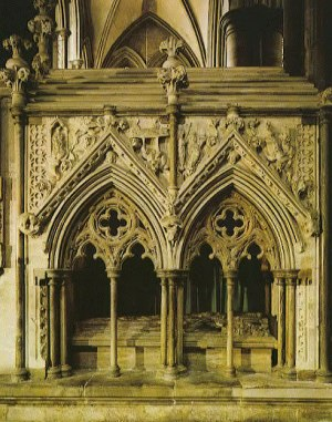 Salisbury_cathedral_Bishop_Giles_de_Bridport