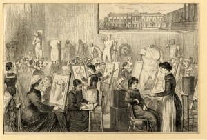 Slade School drawing class