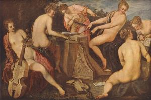 Tintoretto_Women_Playing_Music