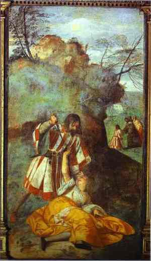 Titian_The_Miracle_of_the_Jealous_Husband_1511