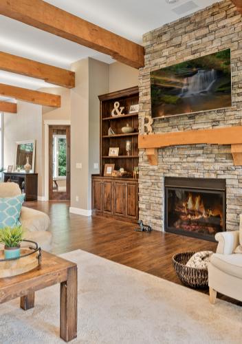 Shaffer Inc. Contemporary Timber Custom Home 3