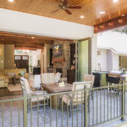 Shaffer Inc. Contemporary Timber Custom Home 6