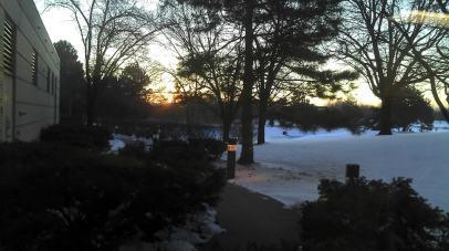 snow daybreak
