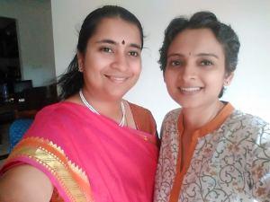 Shailaja and Aparna together