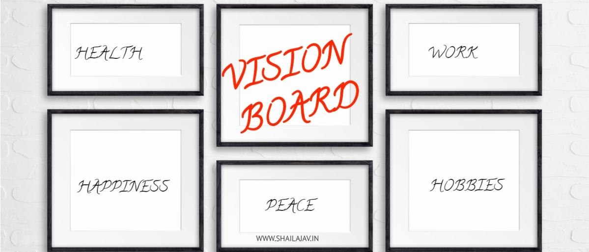 Why I made a Vision Board for the year ahead