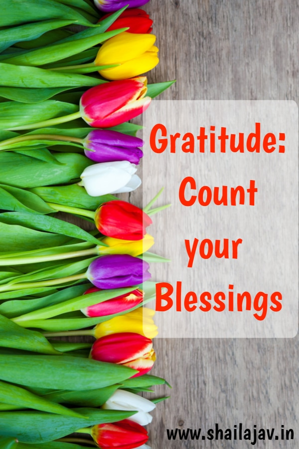Gratitude for May