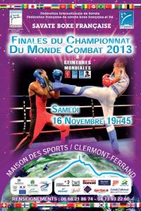 championnat du monde 2013 Savate BF clermont ferrand