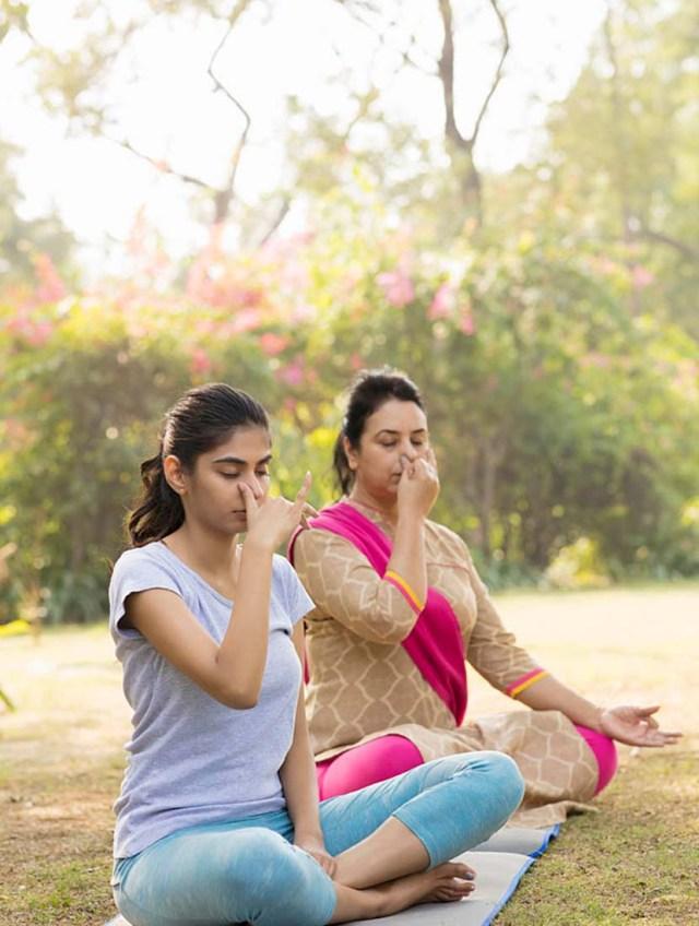 সুস্থ থাকতে প্রাণায়াম যোগাসন - shajgoj.com