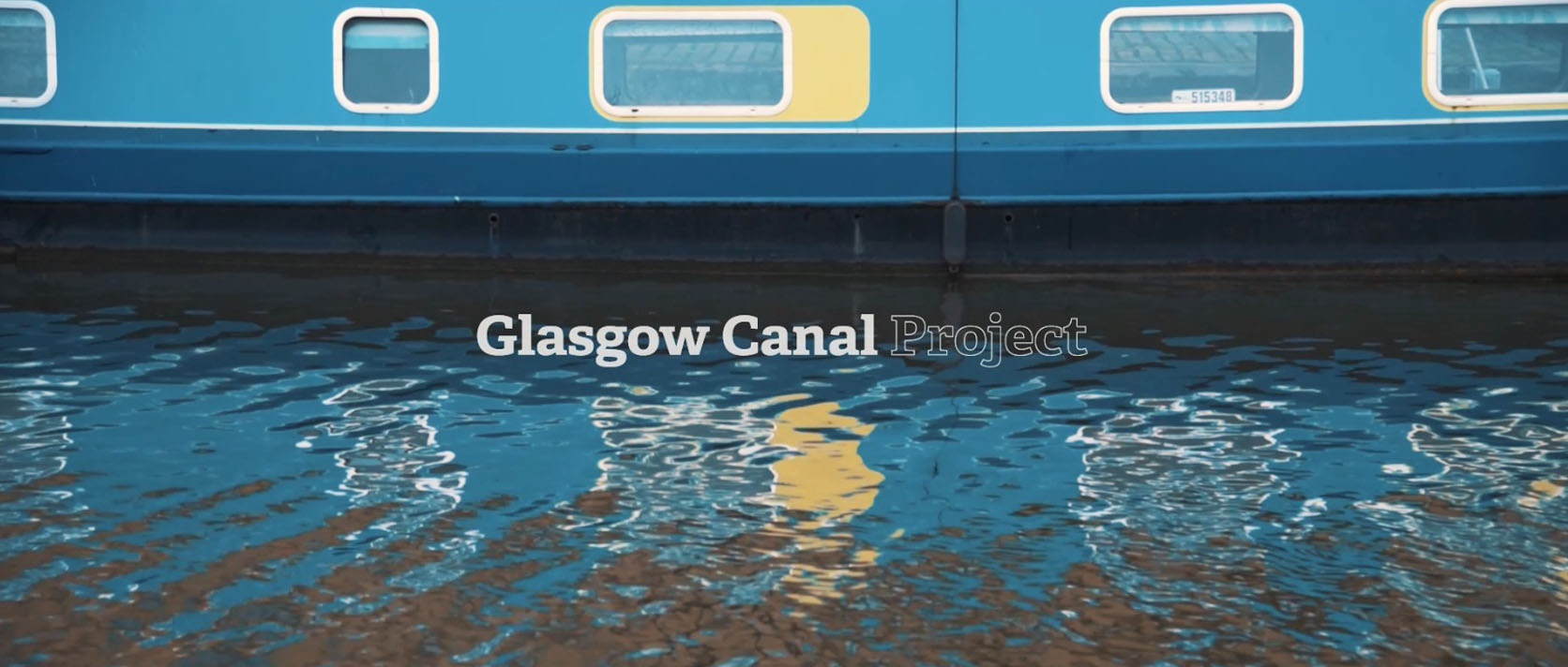 Glasgow Canal Project - Water Activity Video