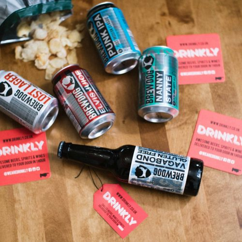 Drinkly Photoshoot Craft Beers Scotland