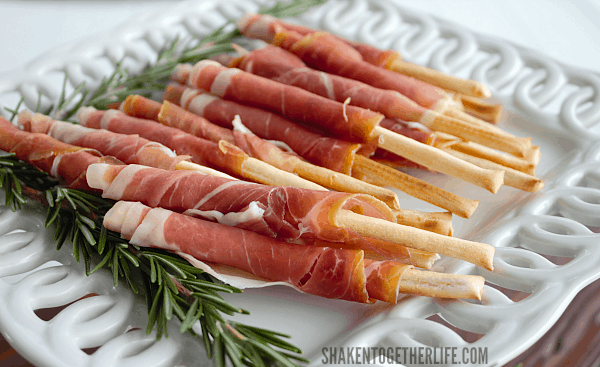Prosciutto Wrapped Breadsticks A 5 Minute Appetizer