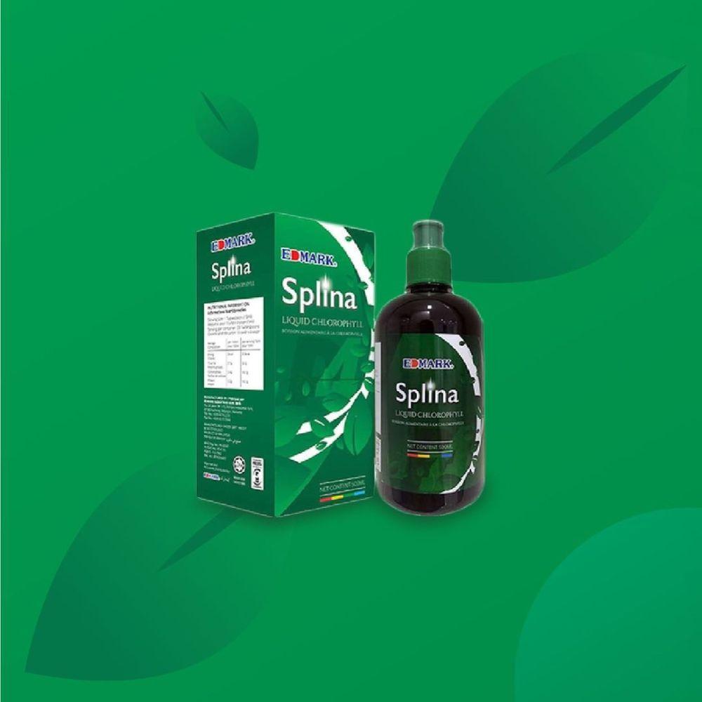 سبلينا مشروب الكلوروفيل من ادمارك الغذائي الصحي