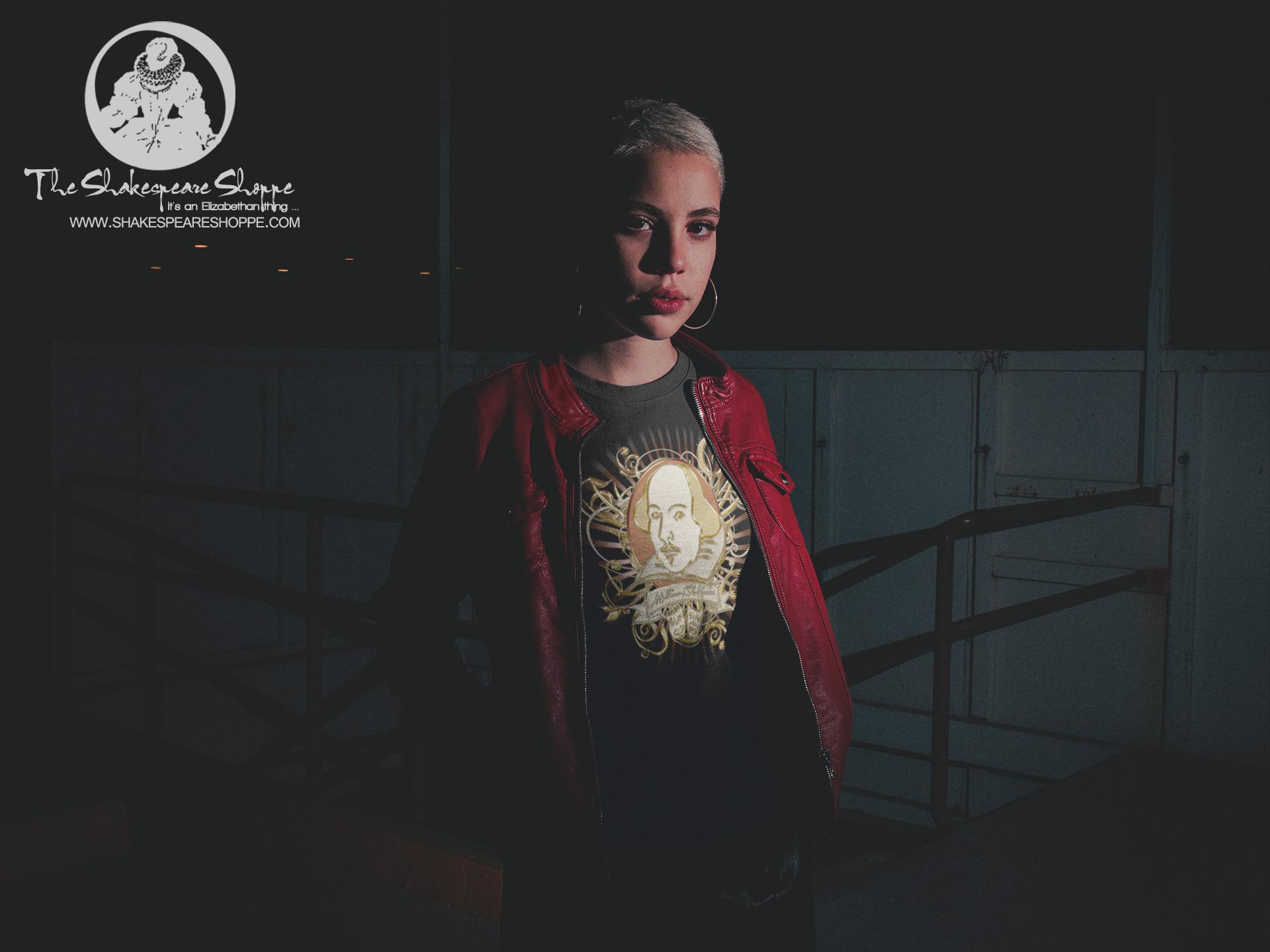 Shakespeare Gold Portrait Unisex T-Shirt