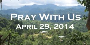 Please Pray April 29 2014 Header