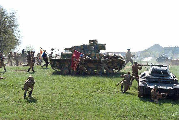В городе Шахты состоится военно-историческая реконструкция и военизированный парад