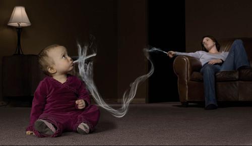 Курение табака портит гены