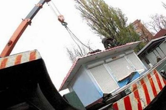 С шахтинских улиц уберут восемь незаконных ларьков