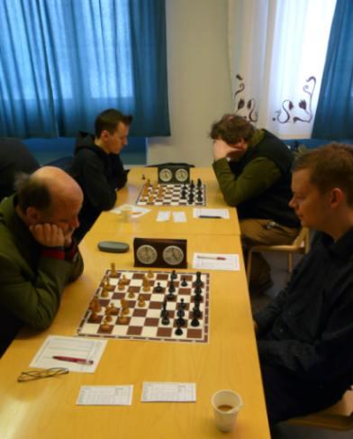 Turnauksen kärkipöydät viidennellä kierroksella.