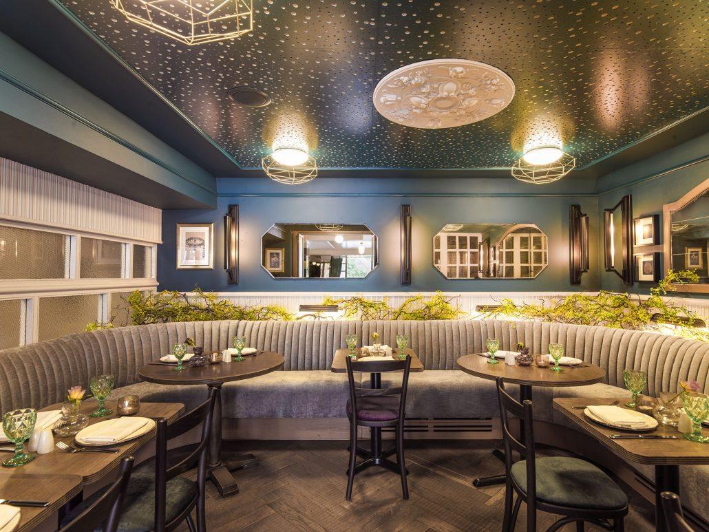 bar restaurant lighting design