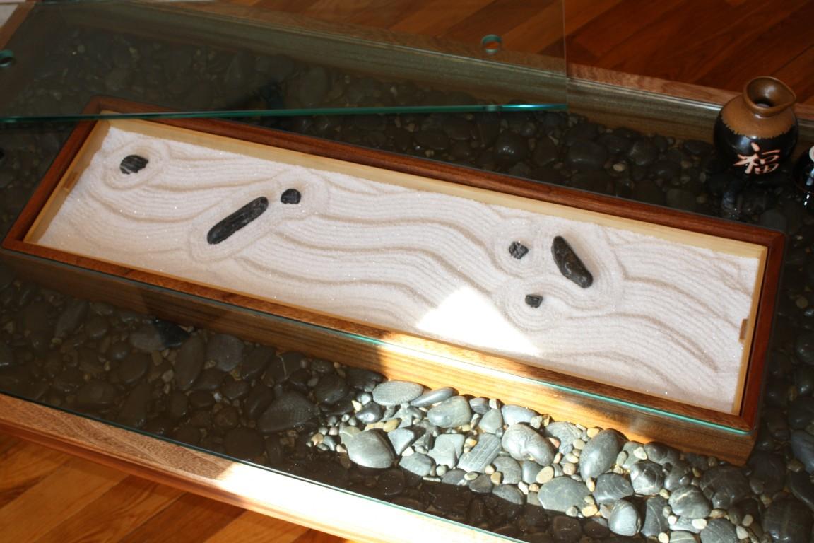 coffee table zen garden minimalist home design ideas
