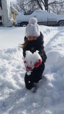 Lydia Fun in the Snow
