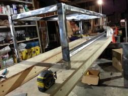 Bench Frame Cross Brace