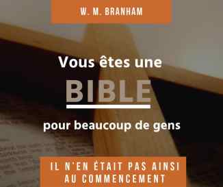 Vous êtes une Bible pour beaucoup de gens