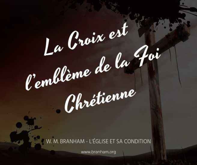 La Croix est l'emblème de la Foi Chrétienne.