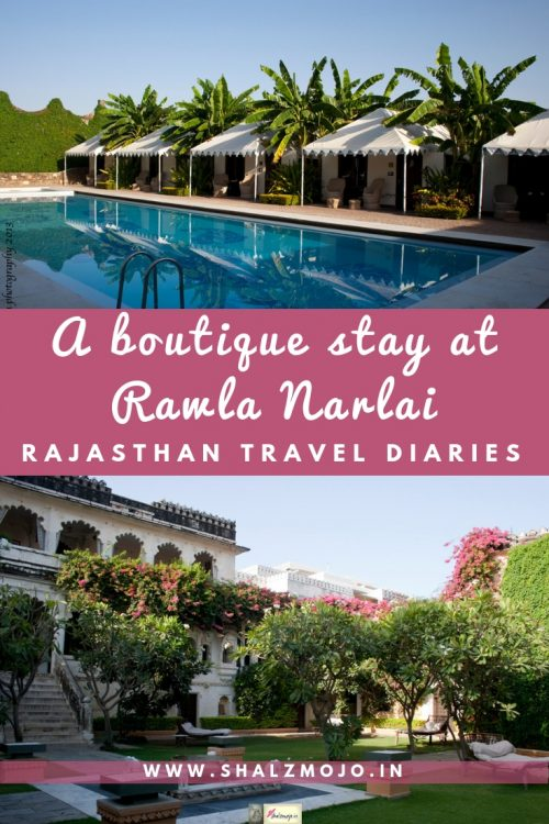 Rawla Narlai - boutique hotel stay near Udaipur and Jodhpur in Rajasthan - Ajit Bhawan