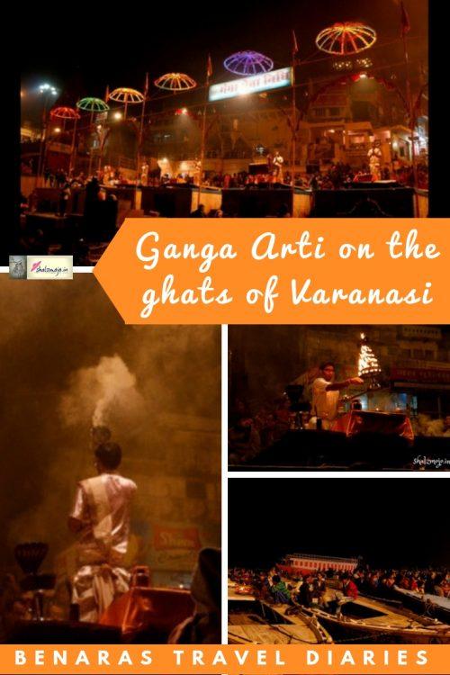 Ganga-arti-on-dashashwamedh-ghats-in-banaras