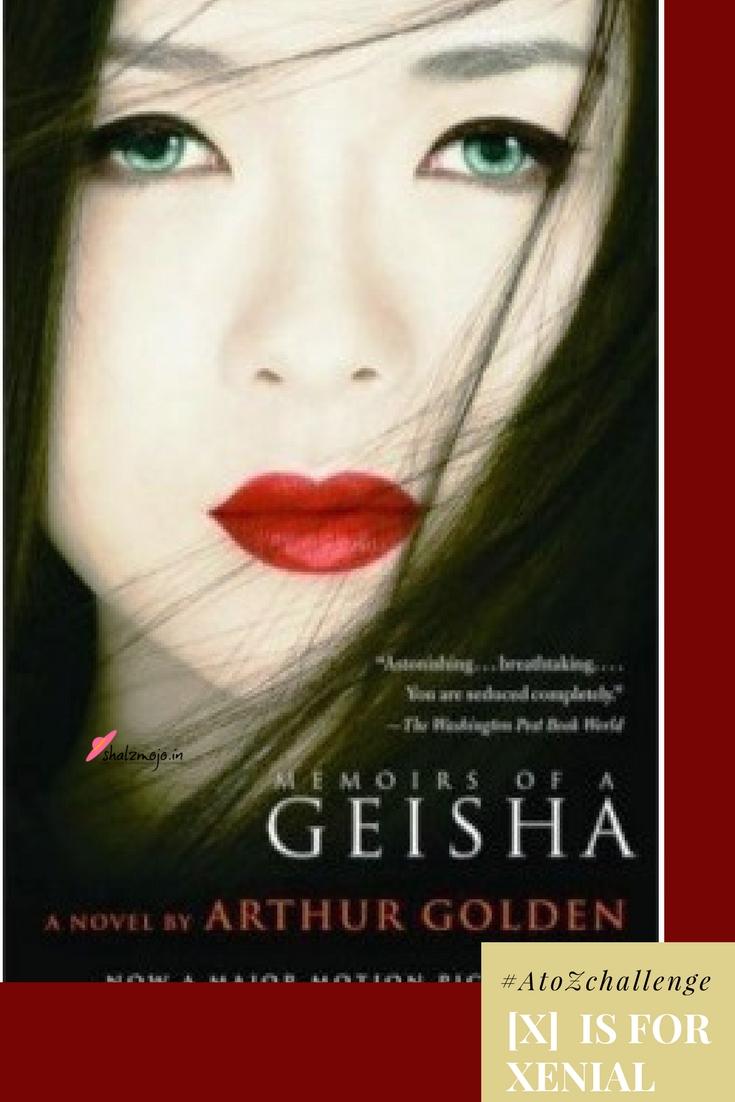 memoirs-of-geisha-xenial-japan-seduction-tea-ceremony-kimono-#atozchallenge-books-TBR-author-genre-fiction