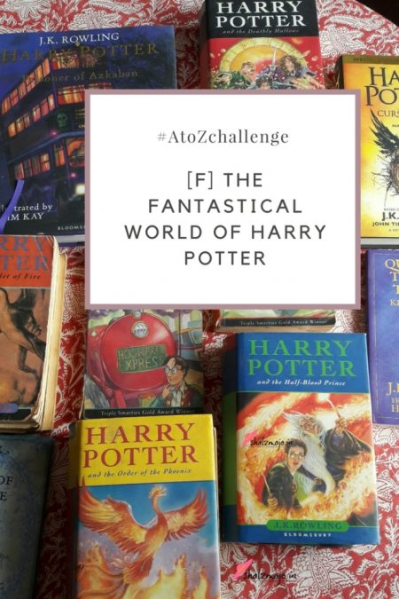 #atozchallenge-books-TBR-author-genre-fiction-Harry-potter-albus-dumbledore-magic-spells-witches-wizards-hogwarts