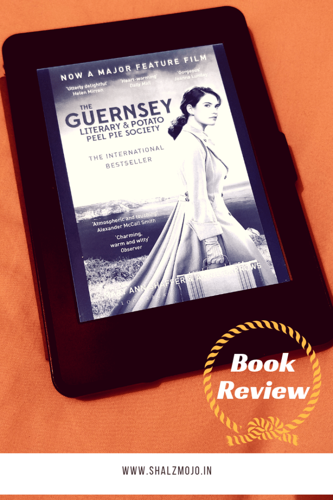 guernsey book club and potato peel pie society - Second world war - book review- guestpost
