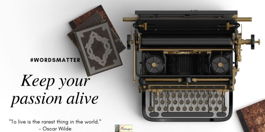 twenty-phoenix -rains-Writing-words matter- typewriter- diary-journal-blog hop-story-window