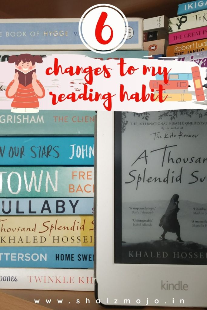6 changes to my reading habit - gues post- reading- writing- December