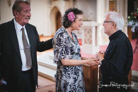 wedding photography St. Edward the Confessor Church in London