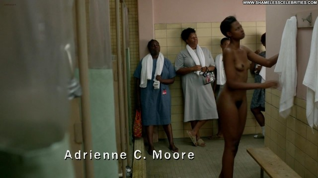 Claire Dominguez Orange Is The New Black Posing Hot Full Frontal