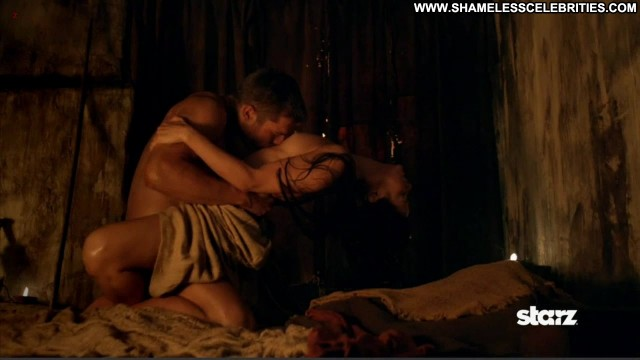 Katrina Law Nude Sexy Scene Spartacus Vengeance Orgy Topless