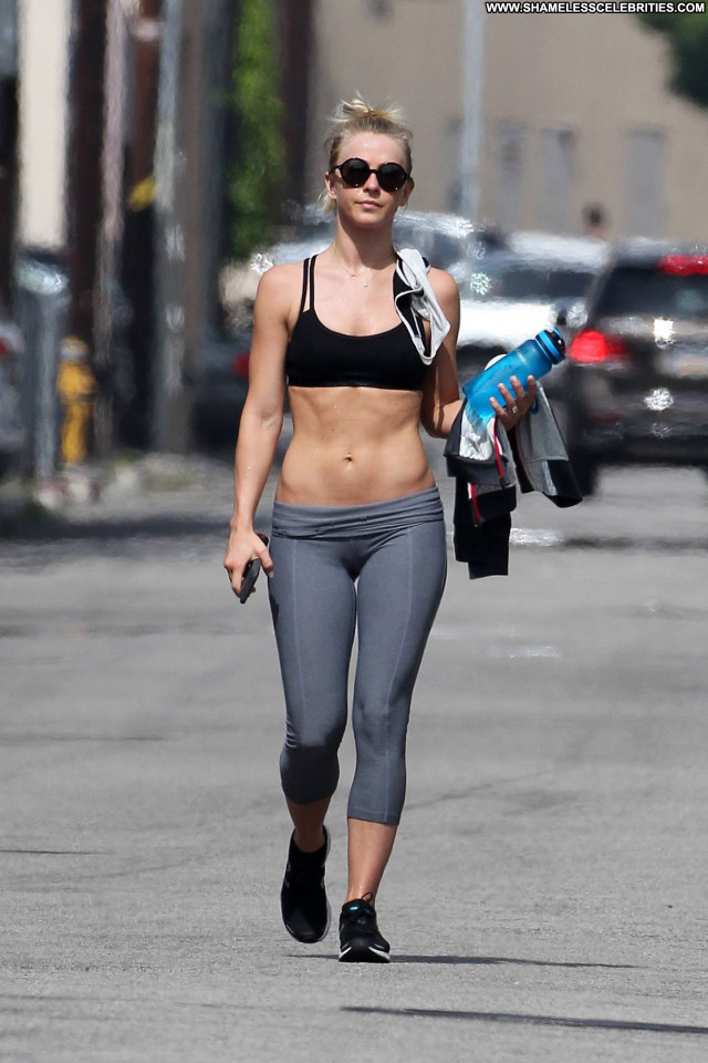 Julianne Hough Los Angeles Posing Hot Los Angeles Gym Babe Celebrity