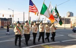2012 St. Patrick's Day Parade Color Guard