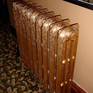 gold radiator