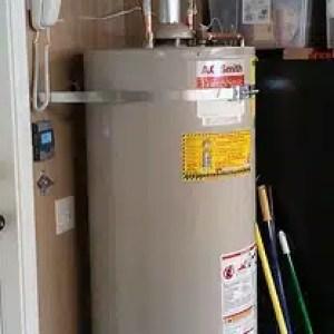hot water heater install