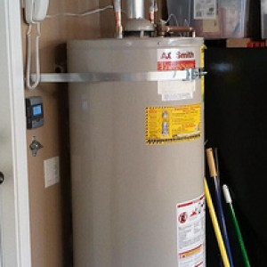 hot water heater install